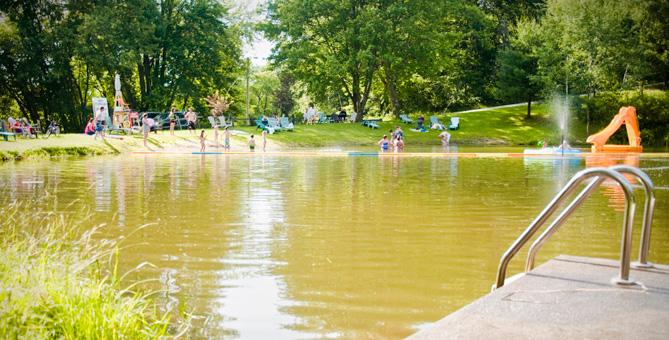 En savoir plus sur l'activité de baignade - Camping Nature Plein Air